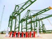 Doosan Vina ships three gantry cranes to India