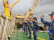 Vietnam Coast Guard officers join exchange programme in China