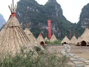 Vietnam Tourism Ambassador revisits Kong filming scenes in Ninh Binh