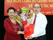 Nguyen Thien Nhan appointed Secretary of HCM City Party Committee