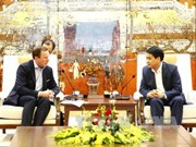 Hanoi leader pledges support to foreign investors