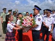 Vietnam Coast Guard ship continues exchange activities in Hainan