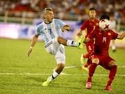 Football: Vietnam U20 lose to Argentina in friendly