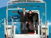 President leaves for China visit
