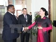 NA Chairwoman receives IPU President, Secretary General