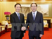 Vietnam values front cooperation with China: President