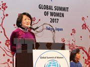 Vietnam active in Global Summit of Women in Tokyo