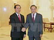 Yu Zhengsheng hails importance of Vietnam President's China visit