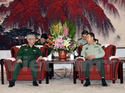 Senior military officials of Vietnam, China meet in Beijing