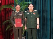 Cambodian generals get PhD degrees in Vietnam