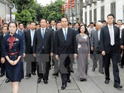President takes trip to China's Fujian province