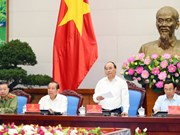 PM stresses importance of guaranteeing public order