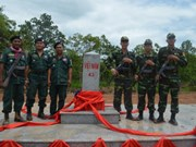 Dak Lak inaugurates border markers on frontier with Cambodia