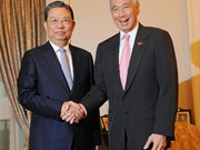 Singapore pledges to promote ASEAN-China relations