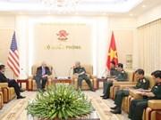 Vietnam, US want to further defense partnership