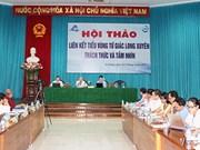 Conference debates connectivity in Long Xuyen Quadrangular