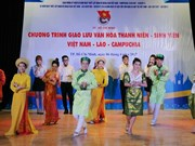 Vietnam, Laos, Cambodia diplomatic ties establishment marked