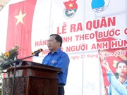 Youth programme honouring war heroes kicks off in Quang Nam