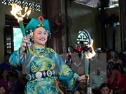 Mother Goddess worship festival underway in Yen Bai
