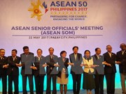 ASEAN senior officials meet in Philippines