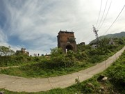 Real works to preserve Hai Van Quan relic site