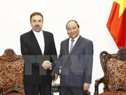 Prime Minister greets Iranian diplomat