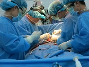 HIV patient's heart surgery successfully conducted