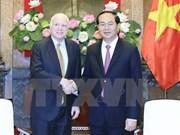 President welcomes US Senator John McCain