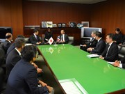 Thai agriculture minister visits Japan
