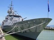 Australian navy ship HMAS Ballarat visits Da Nang