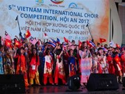 Over 1,000 artists attend Vietnam International Choir Competition