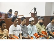 Indonesia jails Singapore rocket plot suspects