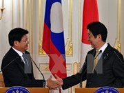 Japanese, Lao PMs hold talks on joint development plan