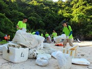 Green, charitable activities during Nha Trang Sea Festival