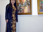 Paintings on Vietnam's beauty exhibited in Romania