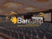 BarCamp Mekong 2017 to be held in Can Tho