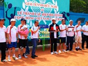 Tennis tournament connects OVs in Ukraine
