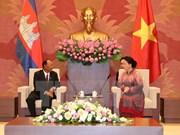 Vietnamese, Cambodian legislature leaders hold talks