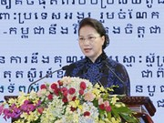 Speech by NA Chairwoman at celebration of VN-Cambodia diplomatic ties