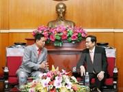 Vietnam, Cambodia foster front cooperation