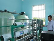 Soc Trang inaugurates hi-tech water supply station