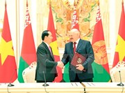 Vietnam, Belarus issue joint statement to develop all-around partnership