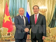 Quang, Putin agree on 10 billion USD in bilateral investmen