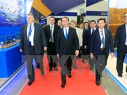 President Tran Dai Quang concludes official visit to Russia