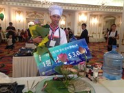 Korean cuisine contest winner receives prize of 3,000 USD