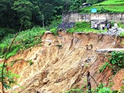 Rain-triggered floods, landslides kill six in Ha Giang