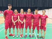 Young badminton players improve world rankings