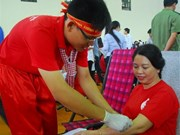 Thousand of people join blood donation festival in Can Tho