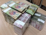 Reference exchange rate up 9 VND