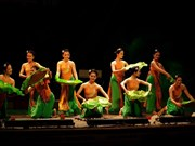 Vietnam perform at world folklore festival